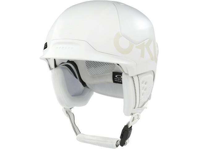 Oakley MOD5 Factory Pilot Casco de esquí, blanco